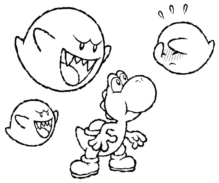 916x768 Here Are Yoshi Coloring Pages Pictures With Villains Baby Coloring