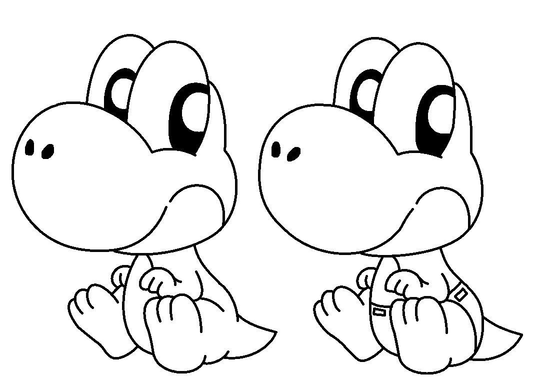 1072x756 Baby Yoshi Base By Pokemonlpsfan