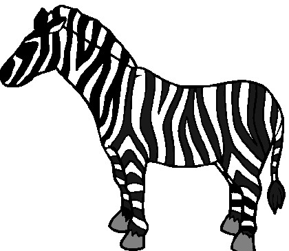 420x365 Baby Zebra Clipart Free Clipart Images 2