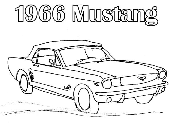 600x464 Car Mustang Fast Back Coloring Pages Car Mustang Fast Back