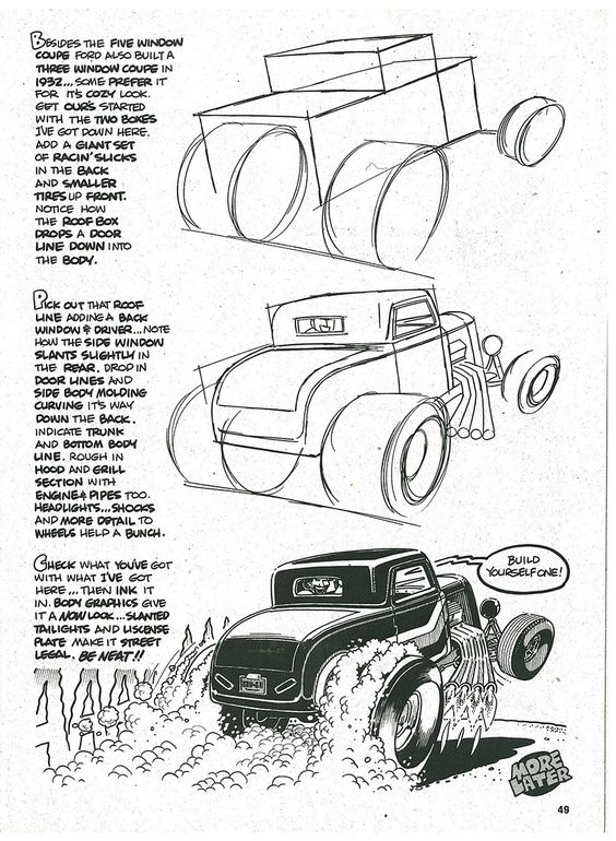 564x770 How To Draw Cars Online Drawing Lessons Cartoon Cars