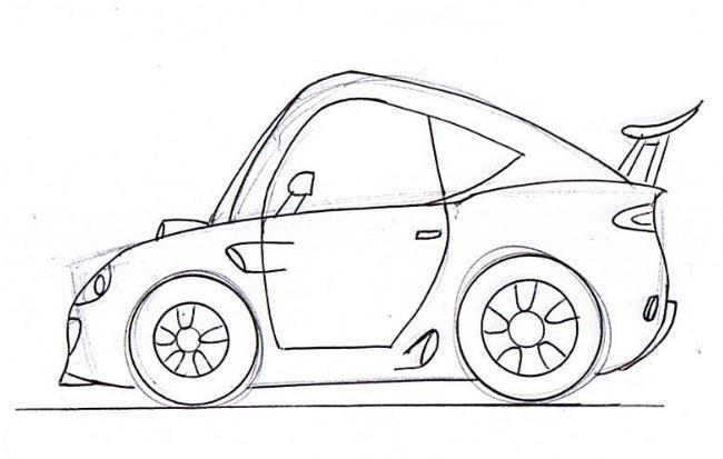 650x413 Learn To Draw The Best Cartoon Cars Junior Car Designer