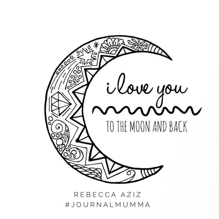 750x750 I Love You To The Moon And Back