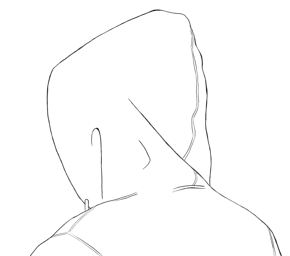 996x879 How To Draw A Hoodie Back And Side View