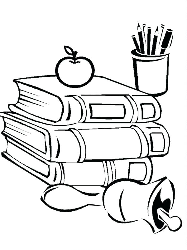 600x801 Back To School Pictures To Color Coloring Pages For Back To School
