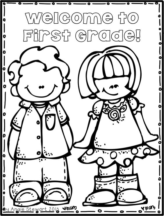 564x740 Back To School Coloring Pages For First Grade