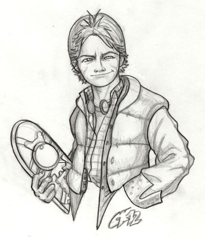 401x470 56 Best Back To The Future Images On Marty Mcfly