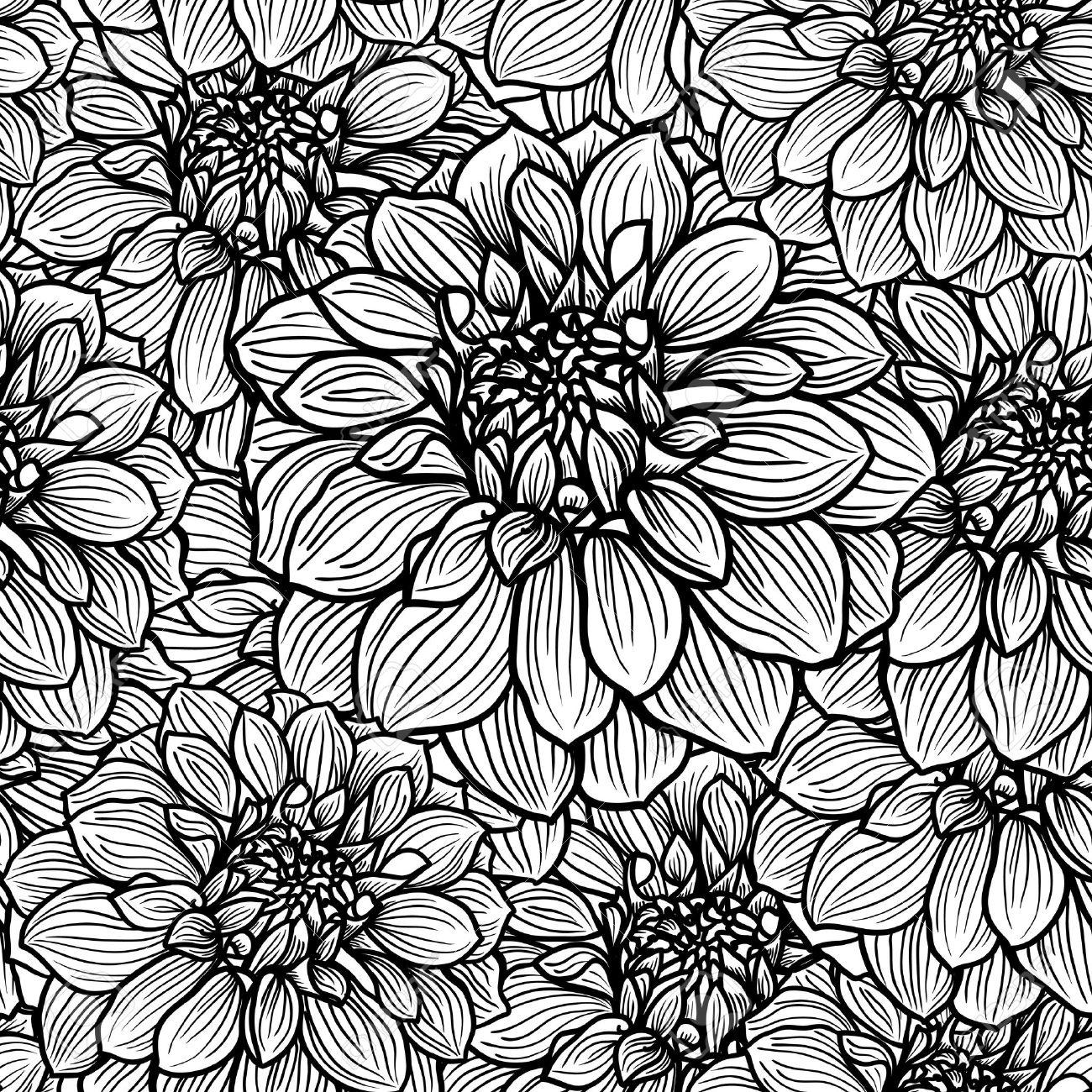1300x1300 Drawn Background Black And White