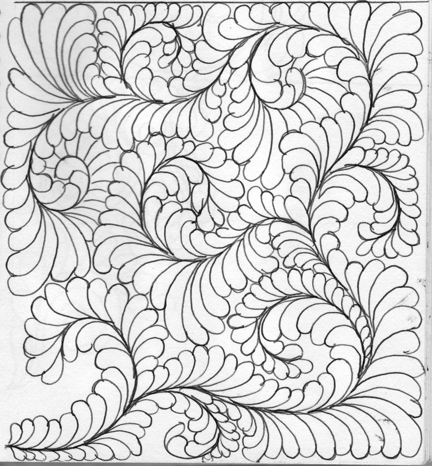 1483x1600 Luann Kessi Quilting Sketch Book Background Fill