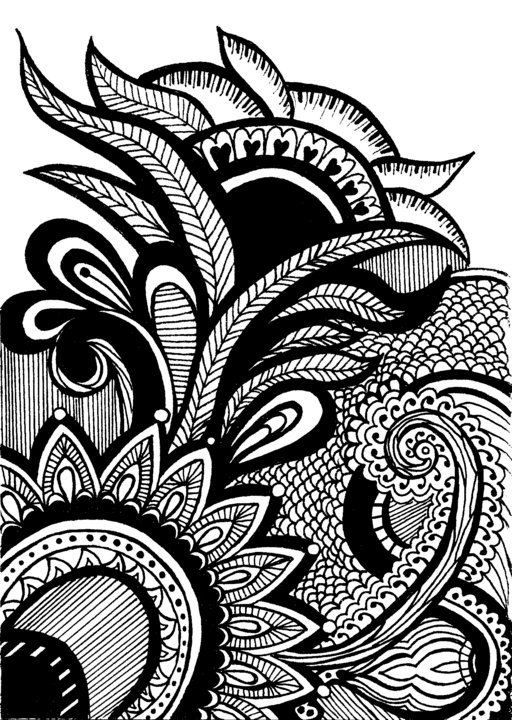 Abstract Designs To Draw