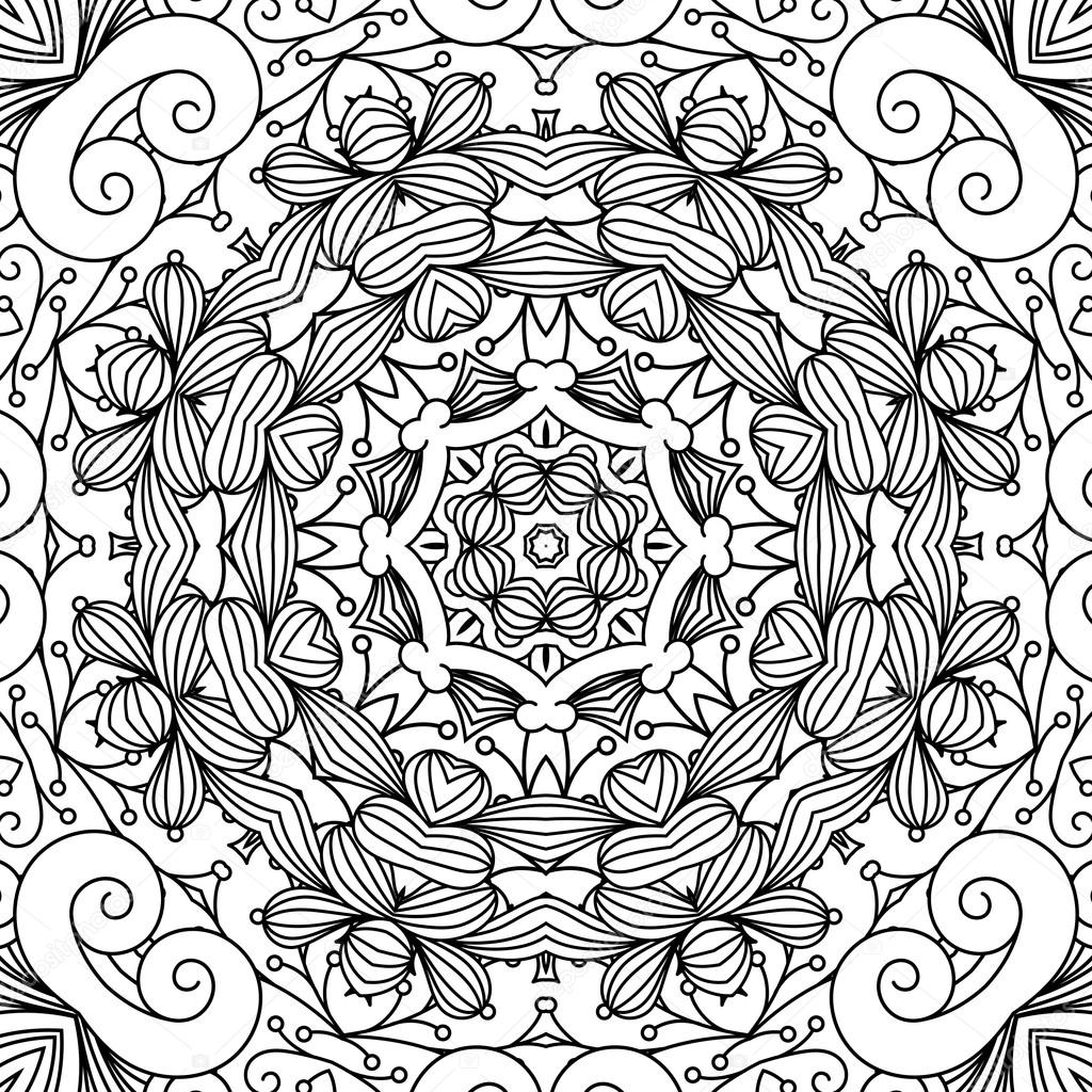 1024x1024 Beautiful Background Composed Of Geometric Designs Stock Vector
