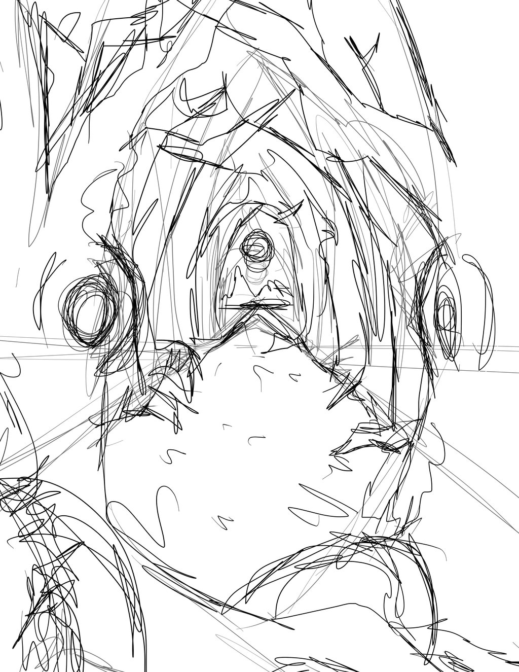 1024x1325 Forest Background Rough Sketch By Kairistrife90