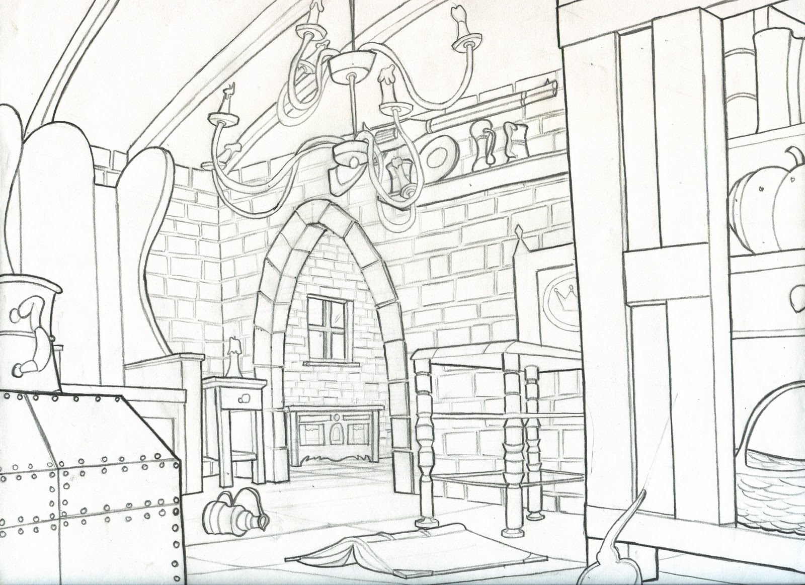 1600x1163 Kevin Adanan's Portfolio Background Drawings