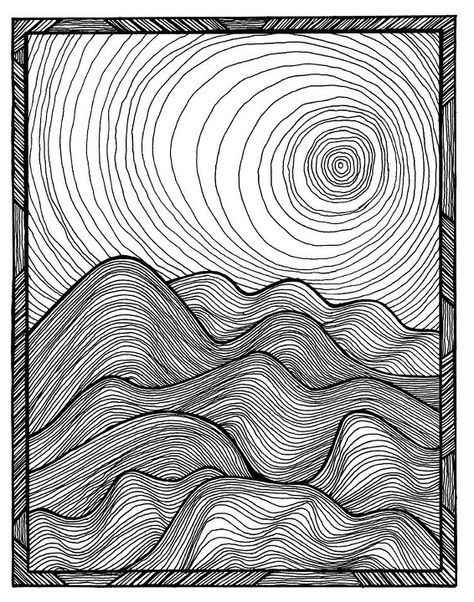 474x602 The Line Work In This Creates Motion As Well As Contrast Between