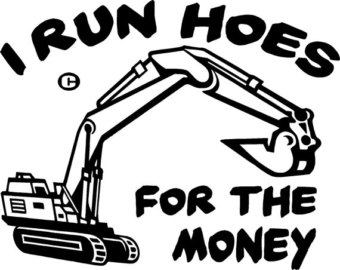 340x270 Backhoe Decal Etsy