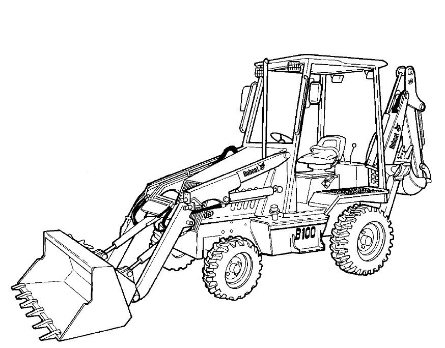 874x684 Bobcat B200 Loader Backhoe Service Repair Manual Downl