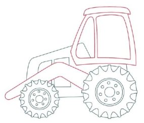 285x243 How To Draw Backhoes Howstuffworks