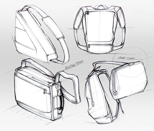 Backpacks Drawing