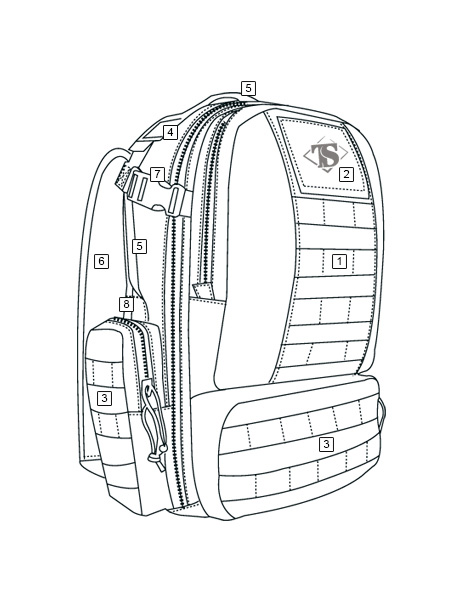 460x600 Circadian Backpack Tru Spec Tactically Inspired Apparel
