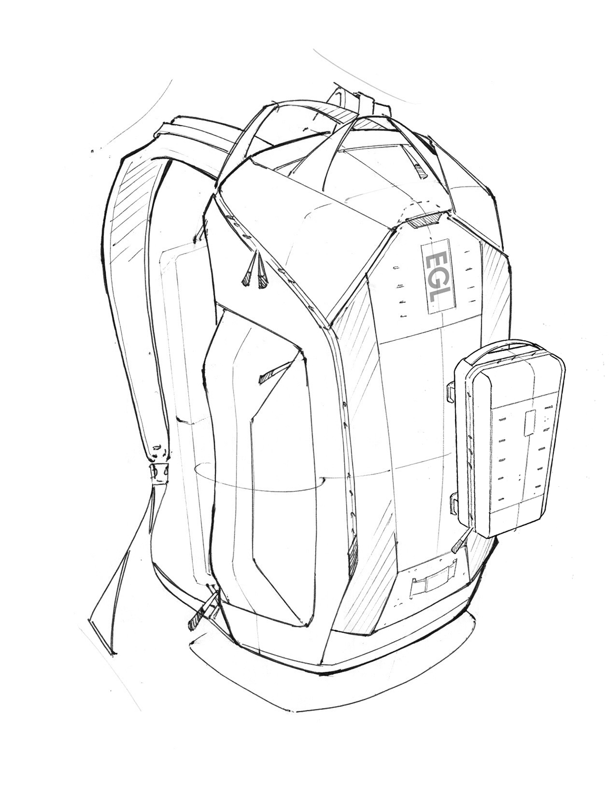 1200x1549 Gaming Backpack