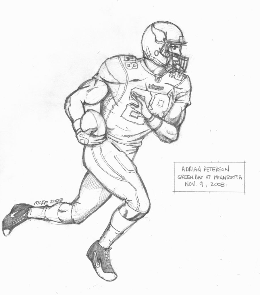 905x1024 Cool Football Drawings Group
