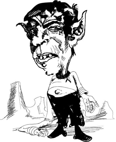 400x491 Bad Spock Drawings