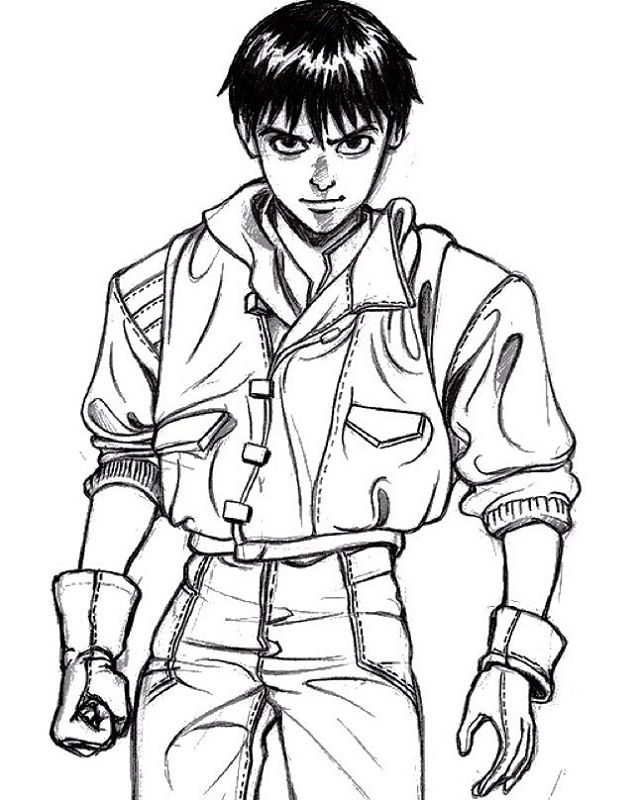 640x800 Kaneda Nanquim On Paper