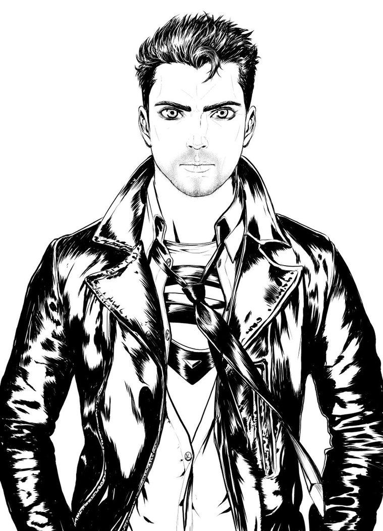 759x1053 Superboy Badboy Style By Gilvany Oliveira