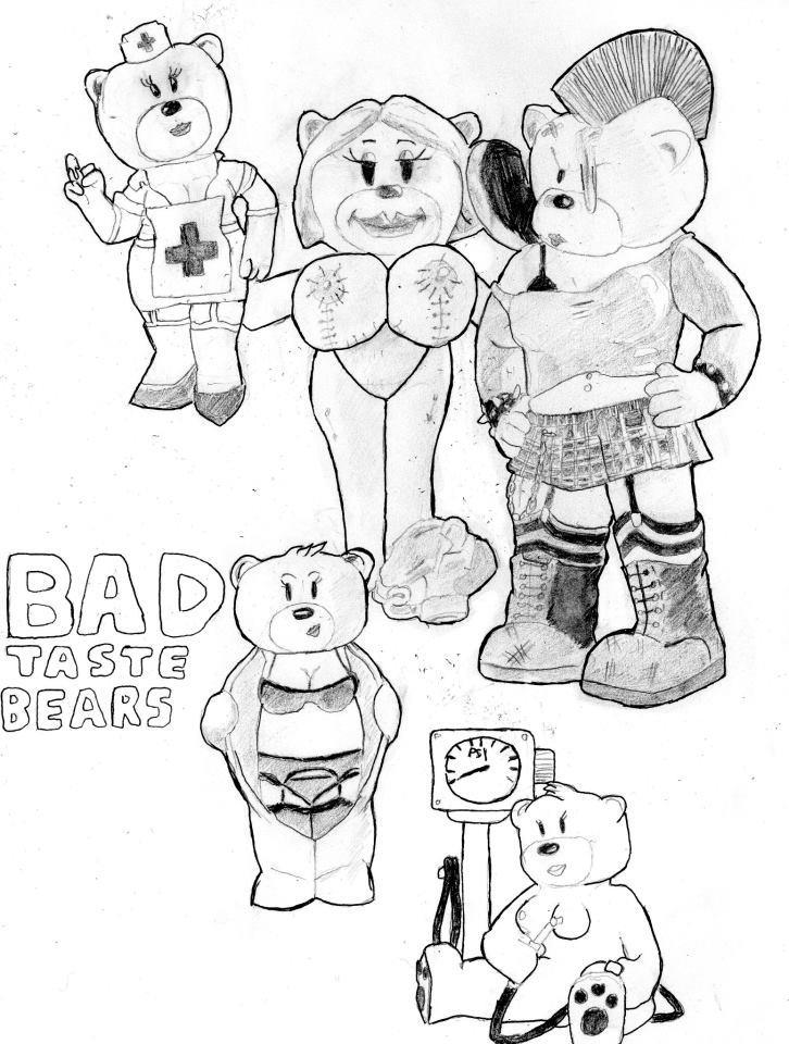726x960 Bad Taste Bears By Rockywebster666