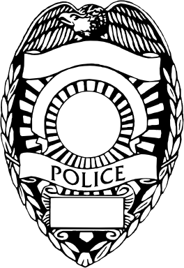 264x384 Vector Police Badges