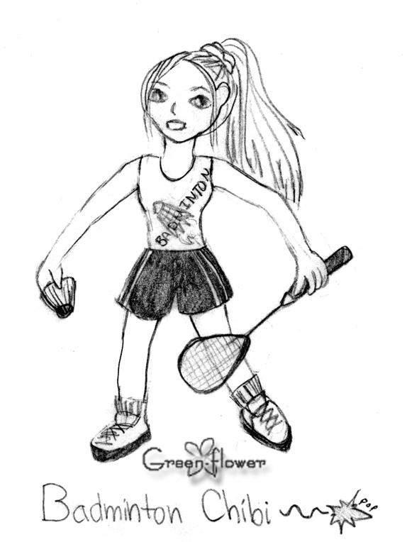 574x764 Badminton Chibi By Green Flower