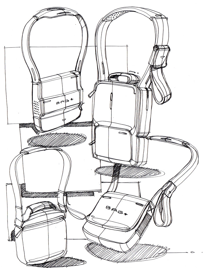 700x926 Sketch A Day 149 Shoulder Bags Sketch A Day Sketches By