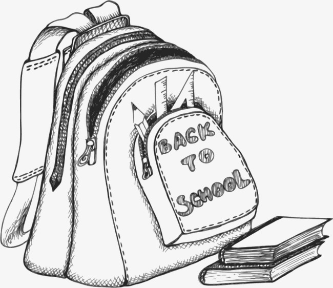 650x562 Sketch Bags, Graphic Design, School Bag, Book Png And Vector
