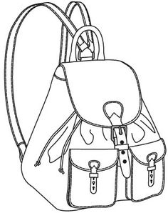236x298 Sketch Of The Bag