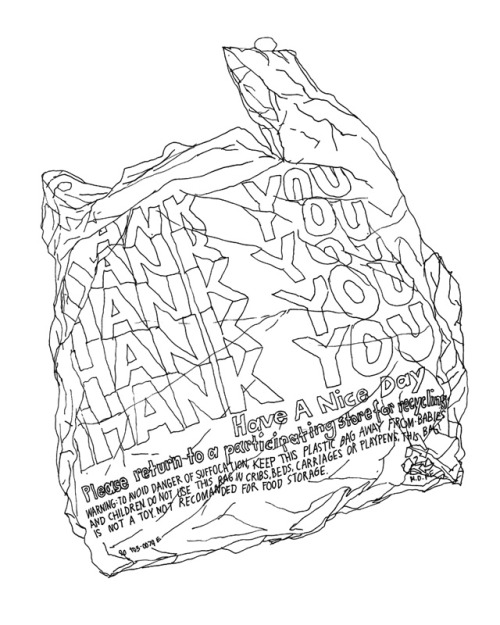 500x625 Drawing Illustration Black And White Typography Design Thank You