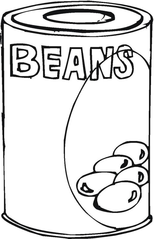 515x800 Canned Beans Clip Art