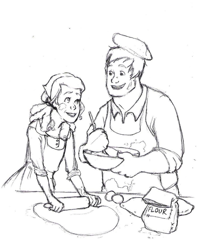 816x980 Anastasia And The Baker By Teddystwin