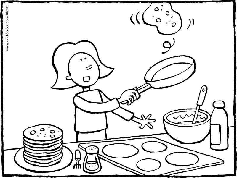Baking Drawing at GetDrawings | Free download