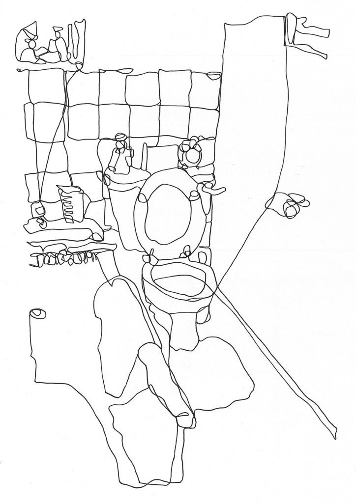 724x1024 Best Blind Drawing Ideas On Blind Contour Drawing