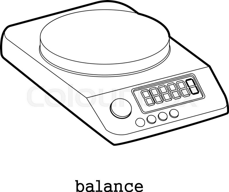 balance scale drawing at free for. Black Bedroom Furniture Sets. Home Design Ideas