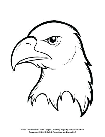 350x453 Coloring Pages Of Bald Eagles Bald Eagle Coloring Pages Bald Eagle