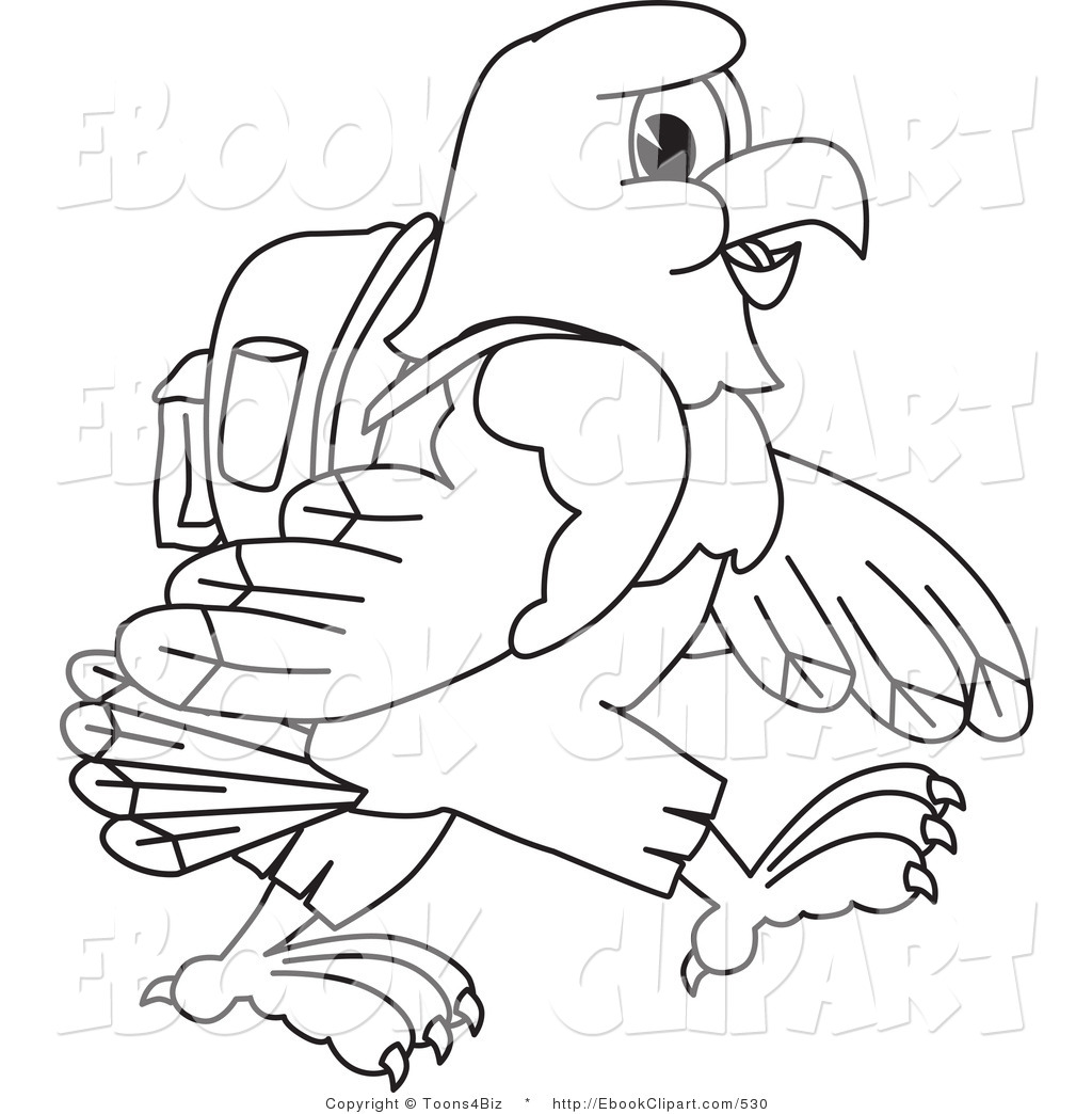 Bald Eagle Black And White Hawk Clip Art Phoenix Wings Png 2409 2400 Transpa