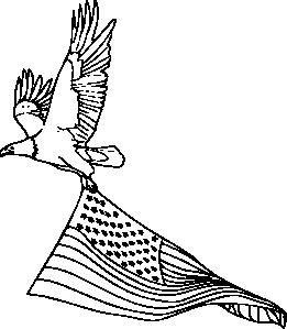 261x299 Drawn Bald Eagle Black And White