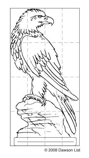 308x550 14 Photos Of Template Of Bald Eagle Templates Bald