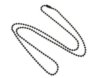 340x270 Black Ball Chain Etsy