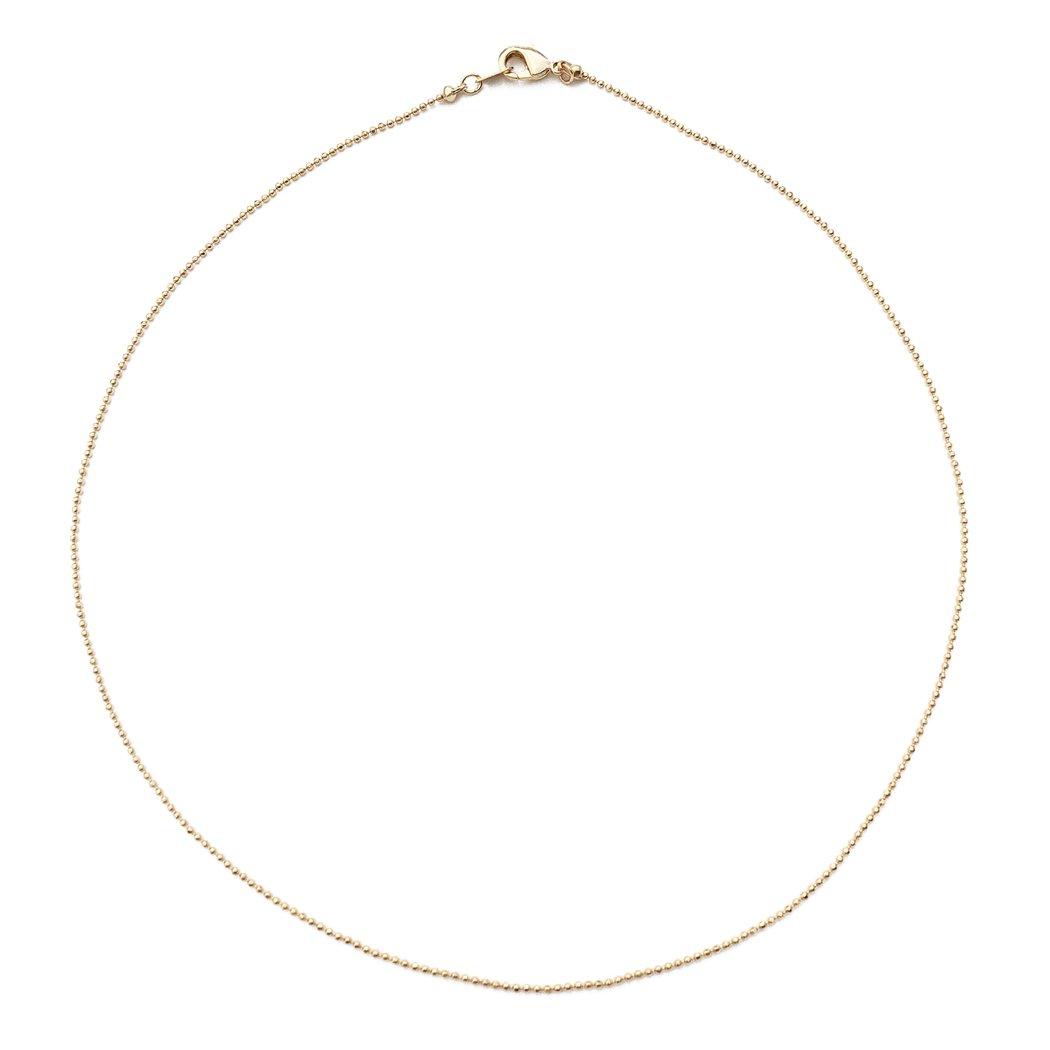 1050x1050 Thin Ball Chain Choker Honeycat Jewelry