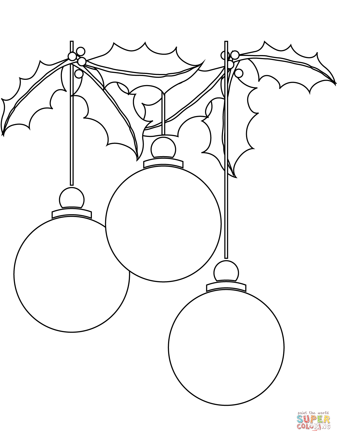 1159x1500 Christmas Ball Ornaments Coloring Page Free Printable Coloring Pages