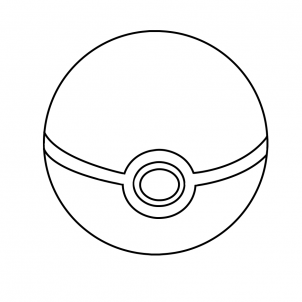 302x302 Coloring Pages Pokemon Ball Coloring Pages Em2 How To Draw