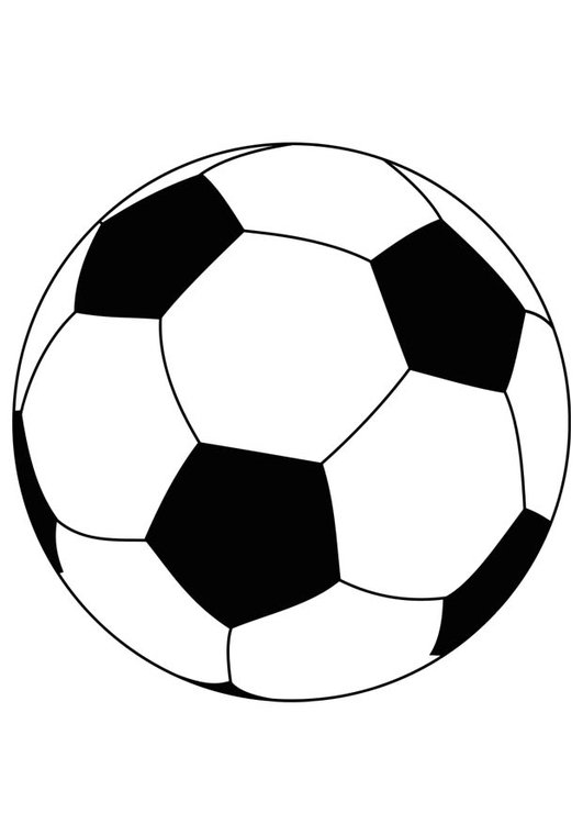 531x750 Coloring Page Soccer Ball