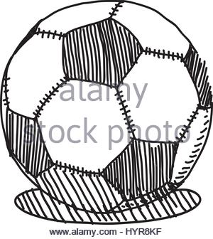 300x336 Vector Illustration Of Abstract Grunge Soccer Ball For Your Poster